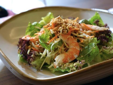 Asian food salad