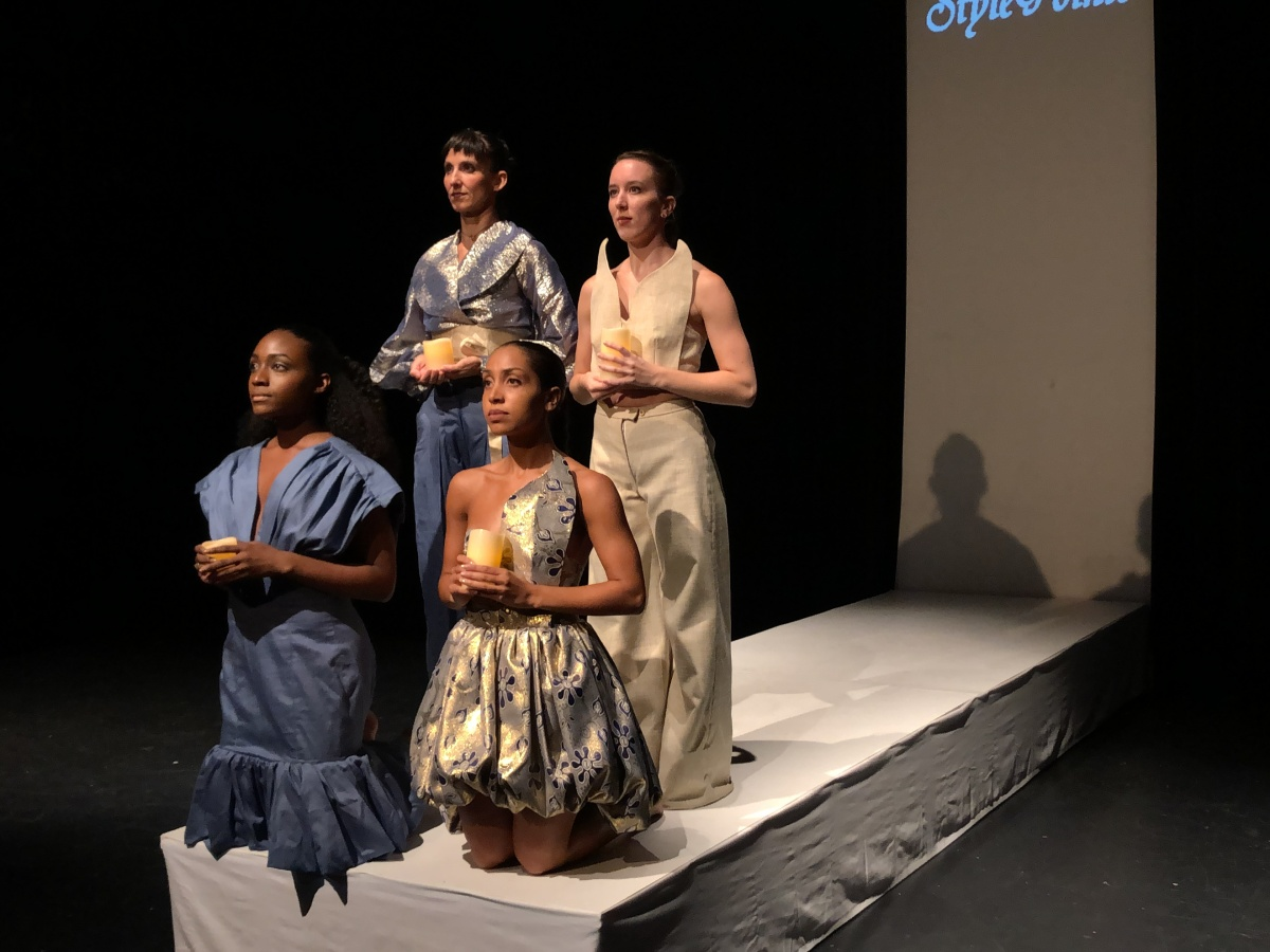 Style Pointe Contemporary Dance Fashion Show Candles